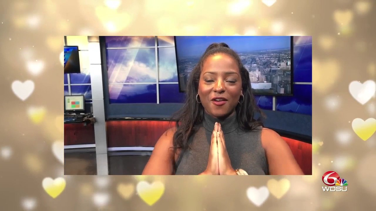 Grab the tissue: WDSU morning show crew sends Gina Swanson special wedding  day message!