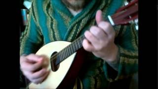 Mandolin practice #2: Tom Dooley