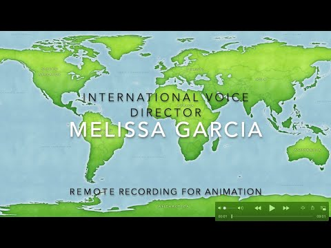 Interview W MELISSA GARCIA Remote Recording For Animation