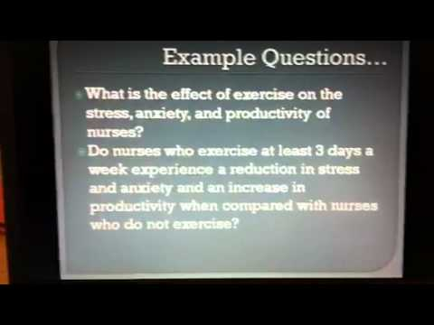nursing research question ideas