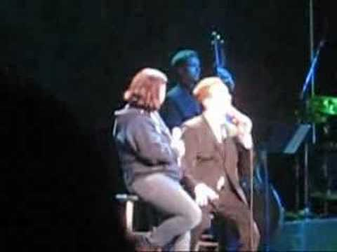 Michael Buble And Jann Arden Duet In Seattle