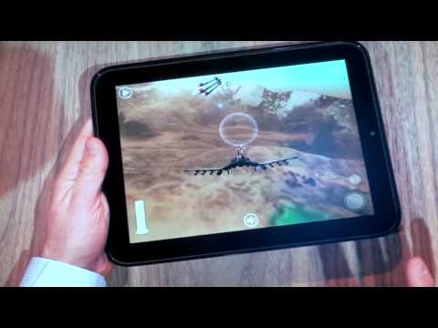 HP TouchPad Gaming