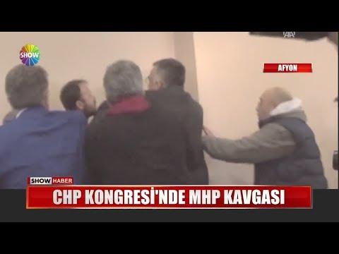 CHP Kongresi'nde MHP Kavgası