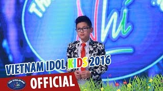 vietnam idol kids - than tuong am nhac nhi 2016 - cha - ve an com - tet nguyen dan - thanh an