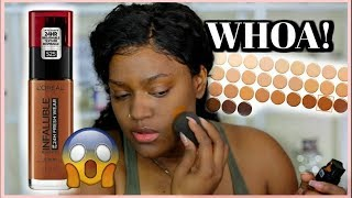 LOREAL! New Infallible Fresh Wear 24HR Foundation Review & Wear test