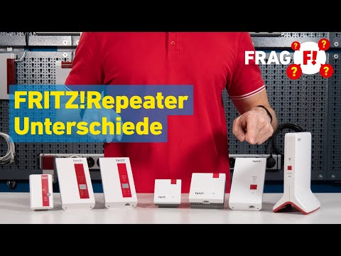 FRITZ!Repeater – Was sind die Unterschiede? | Frag FRITZ! 022