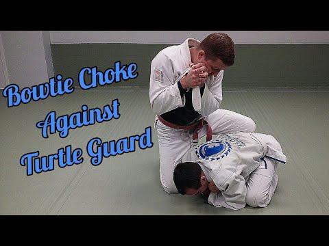 Bowtie Choke Against Turtle Guard by Bo Walaszek - BeltQuest Jiu Jitsu