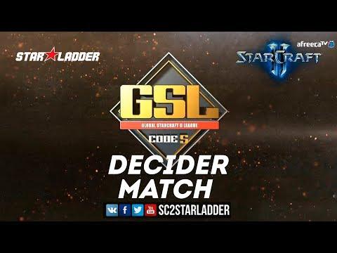 2018 GSL Season 2 Ro32 Group С Decider Match: KeeN (T) vs Solar (Z)