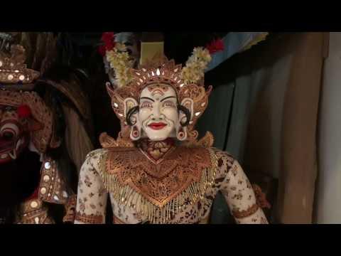 Bali Ubud Barong Costumes ARMA Museum