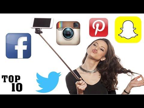 Top 10 Biggest Social Media Websites & Apps