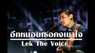 อีกหน่อยเธอคงเข้าใจ - ธเนศ วรากุลนุเคราะห์ [Cover By] Lek The Voice