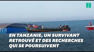En Tanzanie, un survivant a été retrouvé trois jours après le naufrage