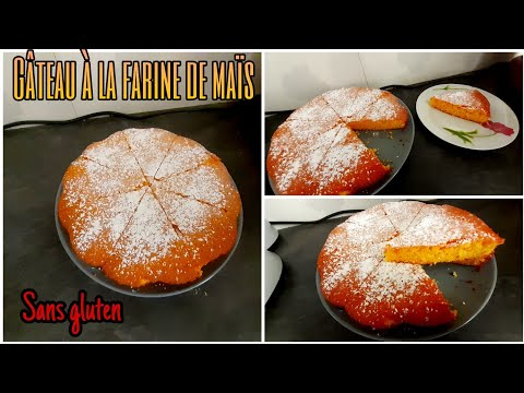 ❤-gâteau-au-yaourt-à-la-farine-de-maïs-🤩-{gâteau-sans-gluten}