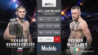 Khabib Nurmagomedov vs. Conor MacGregor