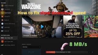 COD: Warzone - slow download speed fix | Season 3