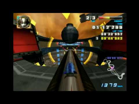 """F-Zero GX - Port Town Cylinder Wave 1'53""""898 With Space Angler"""