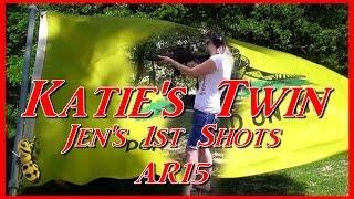 Katie's Twin Jen's 1st AR Shots