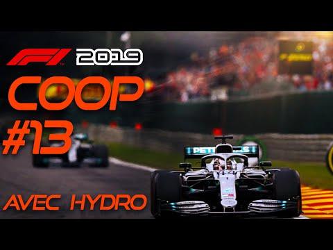 F1 2019 Carrière Coop #13 - HYDRO EST STUPIDE