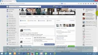 How To Become Admin To Any Groups In Facebook