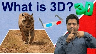 What is 3D? Understand 3D Graphics, 3D Movie, 3D Animation?