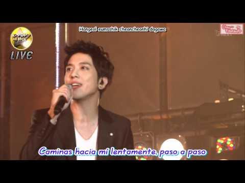 [Subs Español] SeoHyun & YongHwa - Banmal Song (110820 Kpop All Star Live In Niigata)