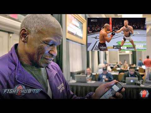 "Thumbnail: Mayweather Sr. watches McGregor vs. Alvarez ""A jab would take care his ass all day"""