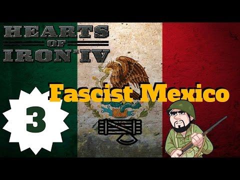 Hearts of Iron 4 | Hearts of Iron IV Mexico | Fascist Mexico | Episode 3 - Empire of Mexico