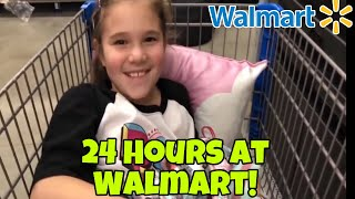 24 Hours In Walmart! 24 Hours Overnight In Walmart With My Mom!