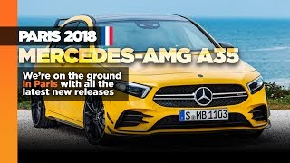 Mercedes-AMG A35 revealed in Paris