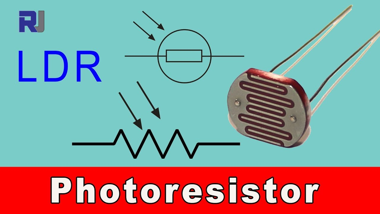 Introduction to LDR or photoresistor and how to Turn ON something ...