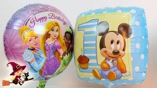 Inflamos Globos de Mickey Mouse Doctora Juguetes Princesas Disney