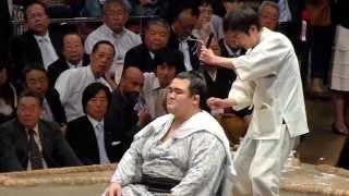 平成26年10月4日(土)、琴欧洲引退断髪披露大相撲に行ってきました! 同...