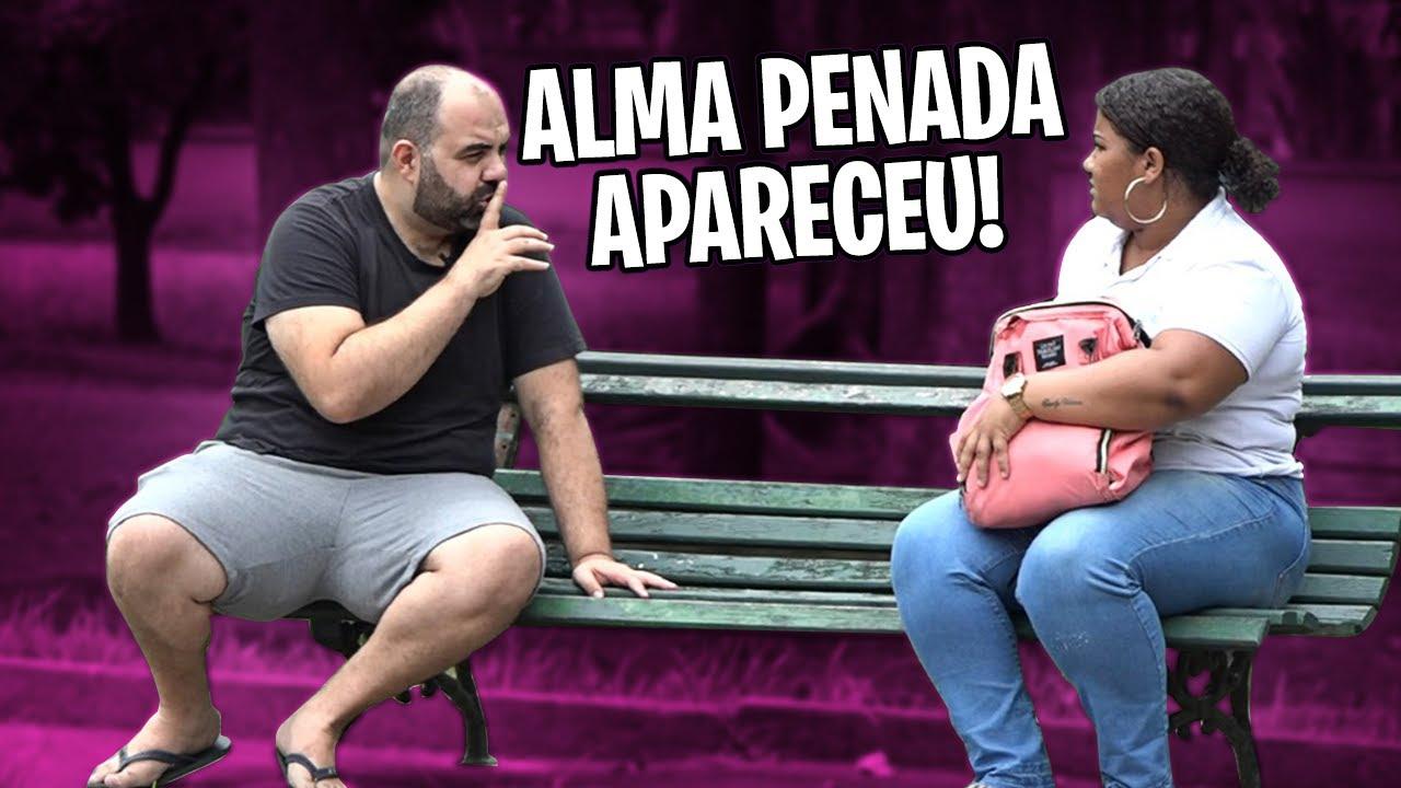 PEGADINHA - ALMA PENADA VOLTOU E SÓ VOCÊ PODE ME VER!