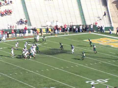 Garrett Gilbert interception 1st qtr 4A title game