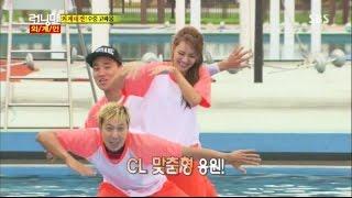 RM Funny ] Gangster Ji Hyo taught Kwang Soo some lessons