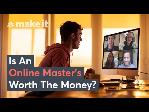 Is An Online Master's Degree Worth The Money?