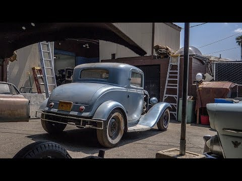 """Hollywood Hot Rods """"The Dewar Coupe"""" ('32 Coupe Barn Find) 