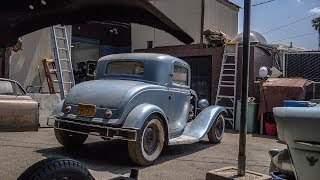 "Hollywood Hot Rods ""The Dewar Coupe"" ('32 Coupe Barn Find) 