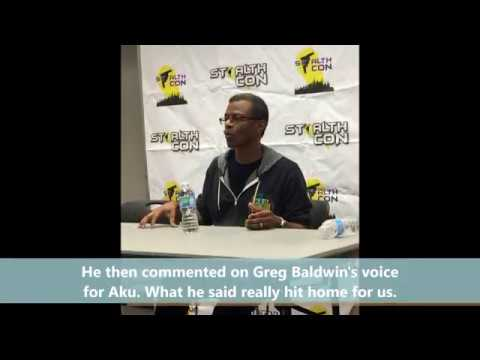 Phil LaMarr on Greg Baldwin Voicing Aku
