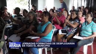 Consejos comunales de Linares Alcántara recibieron preparación en contraloría social 18/10/2014