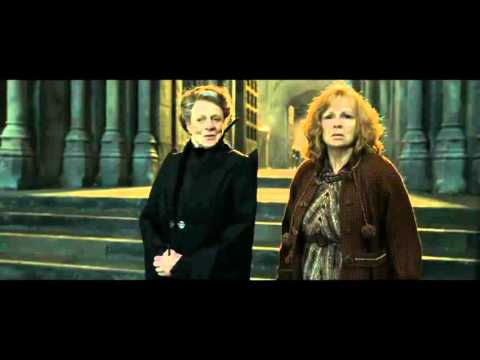 Harry Potter and the Deathly Hallows   Part 2 Protecting Hogwarts Scene   HD