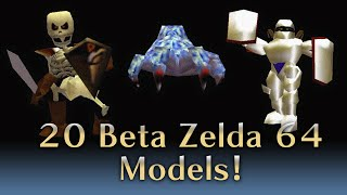 Zelda 64 - 20 Beta Enemies, NPCs, and Models Restored!