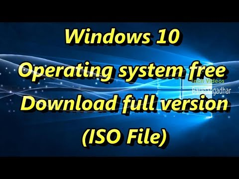 free download windows 10 operating system full version with key