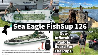 Our New Inflatable Stand Up Paddle Board | Sea Eagle FishSup 126 Unboxing and Assembly
