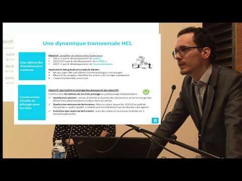 L'expérience des bureaux des admissions au CHLS et à l'Hôpital Edouard Herriot (Lean Management)