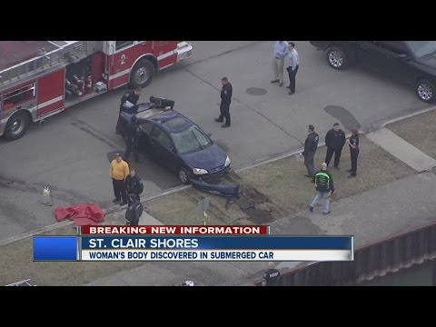 Body found in car in St. Clair Shores canal