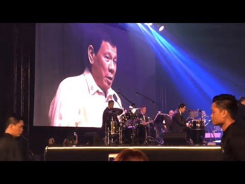 Duterte sings for Trump: 'You are the light'