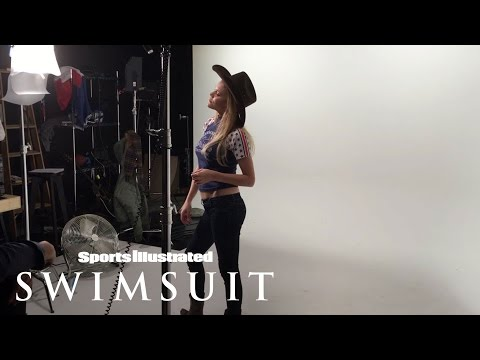 Ashley Smith Behind The Scenes Dance Moves | Sports Illustrated Swimsuit