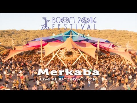 Merkaba Live Set @ Boom Festival 2016 ᴴᴰ