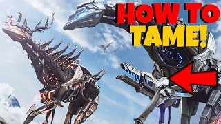 HOW TO TAME A STRYDER! | Nęw Genesis 2 DLC | Ark: Survival Evolved